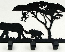 Настенная вешалка «Африка»