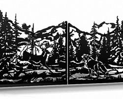 Ворота «Встреча в лесу»