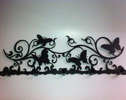 Настенная вешалка «Бабочки»