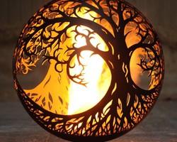 """Огненная чаша """"Древо жизни"""""""