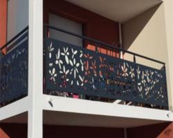 """Балконное ограждение """"Цветы"""""""
