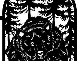 Калитка «Медведь»