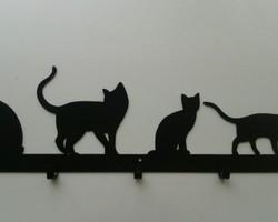 """Настенная вешалка """"Котята"""""""
