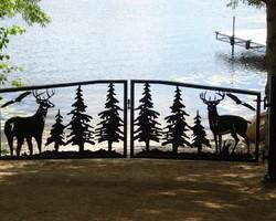 Ворота «Лес»