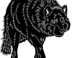 """Фигура """"Волк"""""""