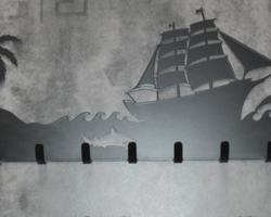 Настенная вешалка «Море»