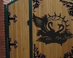 Декоративная накладка «Лебеди»