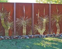 Заборная секция «Пальма»